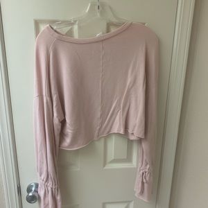 Pink forever 21 sweater!